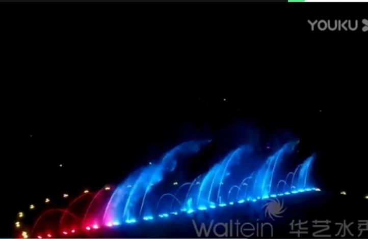 济阳广场水舞光影秀